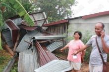 พายุถล่มชัยภูมิ บ้านเรือนเสียหายกว่า 60 หลัง