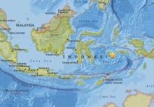 สลด!!แผ่นดินไหวที่อินโดฯ บาดเจ็บ 8 บ้านพัง 120กว่หลังคา