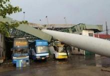 พายุฤดูร้อนเล่นงาน!!โคราช ฝนตกหนัก ลมแรง น้ำท่วม!!
