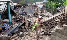 แผ่นดินไหวอินโดฯเสียหายกว่าหมื่นล้านบาท ยอดตายพุ่ง430ศพ