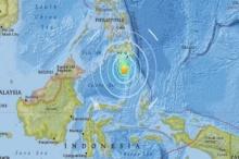ระทึก!! แผ่นดินไหวรุนแรงเขย่าตอนใต้ฟิลิปปินส์ เตือนประชาชนอยู่ห่างชายฝั่ง