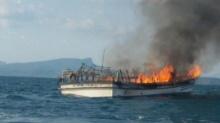 ด่วน!! เพลิงไหม้เรือนำเที่ยวกระบี่ ด.ญ.วัย 12 สูญหาย