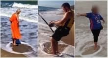 คนแห่วิจารณ์กระหึ่ม หมอลักษณ์โพสต์ภาพพระเกจิชื่อดังแหวกน้ำทะเล