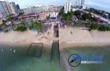 พัทยาทุ่มงบ 190 เร่งก่อสร้างระบบระบายน้ำชายหาดป้องกันน้ำท่วม