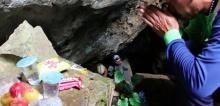 นักท่องเที่ยวต่างชาติหายตัว 7 วันในถ้ำหลวงแม่สาย เขียนข้อความทิ้งไว้ จนท.เร่งค้นหา!