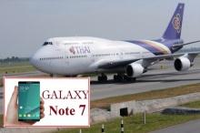 ซัมซุงมีเจ๊ง!!การบินไทยlสั่งห้ามใช้ Galaxy Note 7