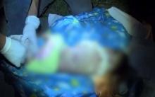 อุทาหรณ์!! แม่อุ้มลูกน้อยวัย 3 เดือน ซ้อน จยย. ถูกล้อดึงร่าง! ติดคาล้อดับ!