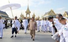"""""""สมเด็จพระเทพฯ"""" ทรงเปิดนิทรรศการพระเมรุมาศ รับสั่งดูแลความเรียบร้อยให้ประชาชน"""