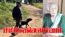 ตชด.14 นำสุนัขสงคราม ช่วยค้นหาปู่นิด พ่อเฒ่าวัย 100 ปี ที่เดินหลงออกจากบ้าน