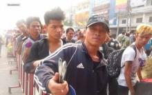คนไทยว่าไง! แรงงานพม่าตัดสินใจ ระดมพลขอค่าจ้างขั้นต่ำ เป็นจำนวนนี้ ทำเอาคนไทยน้ำตาซึม