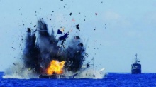 เฉียบขาด! อินโดฯ จมเรือประมงต่างชาติ 41 ลำ ไทยไม่รอด โดนบึม 2 ลำ