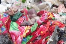 แม่ใจร้ายคลอดลูกแล้วฆ่าทิ้ง จับศพยัดถุงดำโยนทิ้งขยะ!!
