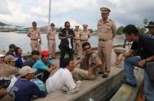 ทหาร จับเรือประมงเวียดนาม รุกล้ำน่านน้ำไทยจับงูทะเลส่งขายจีน
