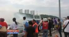 ระทึก!! ไฟไหม้เรือนำเที่ยว ท่าเทียบเรือแหลมบาลีฮาย เสียหายกว่า 8 ล้านบาท