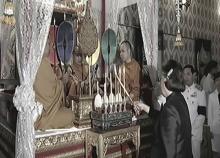 พระเทพฯบำเพ็ญพระราชกุศลสวดพระอภิธรรมพระบรมศพ