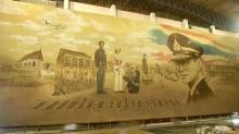 ยลโฉม ภาพพระบรมสาทิศลักษณ์ ในหลวง รัชกาลที่ 9 ใหญ่ที่สุดในประเทศ