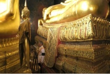 บรรจุพระบรมราชสรีรางคารในหลวง ร.9ที่ฐานพระพุทธชินสีห์