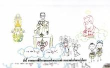 สมเด็จพระเจ้าอยู่หัว พระราชทานการ์ด ทรงขอบใจประชาชนร่วมงานพระบรมศพฯ