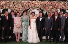 ยิ่งลักษณ์ พจมาน โอ๊ค เอม อิ๊ง ร่วมงานแต่งลูกสาวชัจจ์ กุลดิลก