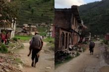 ทีมแพทย์ไทยเนปาล เผยคลิปหมู่บ้านเสียหาย-ลูกแบกพ่อกระดูกหักเดินเท้าไปรพ.