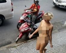 แชร์ว่อน!! คลิปแหม่มสาวเปลือยกายเดินริมถนนย่านสุขุมวิท !!