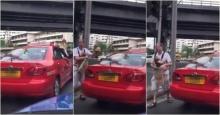 สุดฉุน!!ฝรั่งอุ้มลูกลงจากแท็กซี่ หลังเจอคนขับทำสิ่งนี้ในรถ!??(มีคลิป)