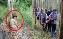 สาวนั่งแช่น้ำอยู่ใต้ต้นยูคา จนเนื้อตัวซีดเปื่อย ก่อนถามความจริงเกิดอะไรขึ้น? สงสารจับใจ..