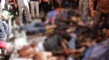 เหยียบกันตาย 10 ศพ แย่งอาหารแจกฟรี ในการศพอดีตผู้นำชาวบังกลาเทศ