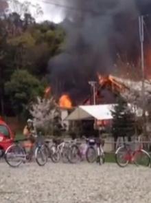 เร่งช่วยพระในโตเกียว หลังวัดถูกไฟไหม้