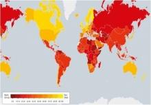 ไทยขยับ 9 อันดับเบอร์ 3 อาเซียน ชี้วัดคอร์รัปชันโลกปี 58