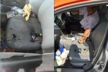ช็อก!! มือถือระเบิดใส่โชเฟอร์แท็กซี่