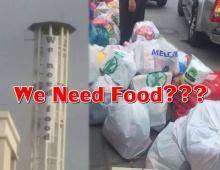 แบบนี้ก็ได้หรอ?!! ธรรมกายขึ้นป้าย we need food หลังเสบียงใกล้หมด-วอนศิษย์ส่งอาหารมาด่วน??