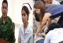 """เปิดใจ""""ส.อ.-พยาบาลสาว"""" ช่วยคนเจ็บเหตุรถชน ชาวเน็ตชื่นชมทั่วโลกออนไลน์"""