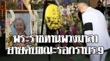 ในหลวง พระราชทานพวงมาลา คุณยายวัย 89 เสียชีวิตระหว่างรอกราบพระบรมศพ!