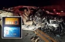 นักข่าวช่อง 3 ขับรถแซงขวา เสียหลักชนรถหกล้อ  เสียชีวิตคาที่