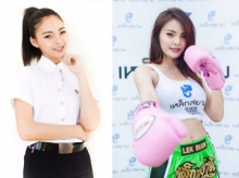 อย่างสวย!! นศ.สาว ชกมวยไทยหาเงินเลี้ยงแม่และส่งเสียตัวเองเรียนหนังสือ