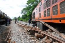 รถไฟกรุงเทพ-เด่นชัยตกรางที่พิษณุโลกไร้เจ็บ