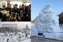 สุดเจ๋ง !!  ทีมเยาวชนไทยพิชิตรางวัลแกะสลักหิมะระดับโลก