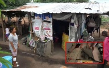 สุดรันทด!!! สี่พ่อแม่ลูกอาศัยคอกหมูเก่าเป็นบ้าน วอนผู้ใจบุญช่วยเหลือ!
