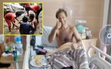 รอดตายเพราะคนไทย!! ดาราอังกฤษสุดซึ้งใจ จนท.สมุย ช่วยรอดตายพลัดตกน้ำตก! เตรียมบินกลับประเทศ