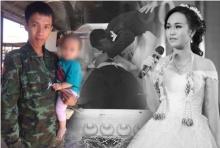 หนุ่มจัดงานศพเมียวันเดียวกับครบรอบแต่งงาน จูบลาครั้งสุดท้ายจะดูแลลูกให้ดี!!