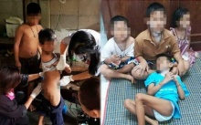 พ่อแม่ทิ้งลูก 4 คน ไว้ตามยถากรรม!! พี่คนโต 10 ขวบ รับภาระเลี้ยงน้องๆ กินกล้วยประทังชีวิต!!