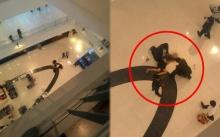 ชายกระโดดจากชั้น 2 นอนหมดสติอยู่กลางห้างดังย่านบางแค อาการสาหัส!!
