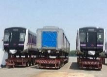 ถึงไทยแล้ว! รถไฟฟ้าสายสีม่วง!