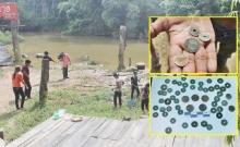 ชาวบ้านฮือฮา!! เตรียมพื้นที่ลอยกระทงเจอเหรียญโบราณอายุกว่า132ปี!!