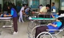 อาหารเป็นพิษ! นร.ปราจีนบุรี กว่า 30 คน ถูกหามส่ง รพ.