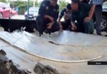 มาเลเซียพบซากชิ้นส่วนเครื่องบินลึกลับ อาจเป็น MH370