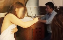 วิจารณ์ขรม!!ตำรวจสอบปากคำสาวนุ่งผ้าเช็ดตัวผืนเดียวสุดหวิว(คลิป)