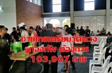 ชายไทยเตรียมวัดดวงเกณฑ์ทหาร กองทัพต้องการ 103,097 นาย