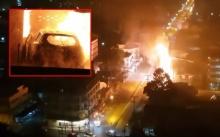 หวิดโศกนาฏกรรม!! เก๋งพุ่งชนร้านแก๊ส ระเบิดตูมสนั่น! ไฟลุกท่วมร้าน ชาวบ้านวิ่งหนีตาย! (มีคลิป)